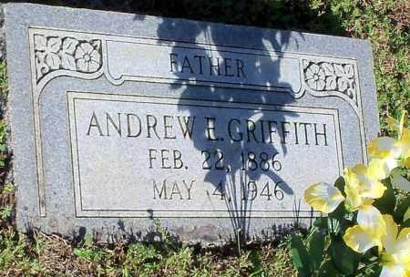 GRIFFITH, ANDREW E - Johnson County, Arkansas | ANDREW E GRIFFITH - Arkansas Gravestone Photos