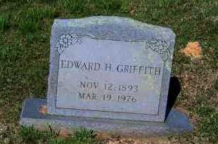 GRIFFITH, EDWARD H - Johnson County, Arkansas | EDWARD H GRIFFITH - Arkansas Gravestone Photos
