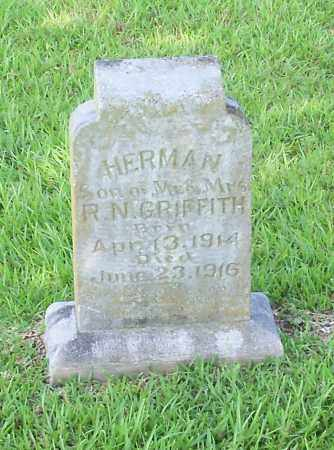 GRIFFITH, HERMAN - Johnson County, Arkansas | HERMAN GRIFFITH - Arkansas Gravestone Photos