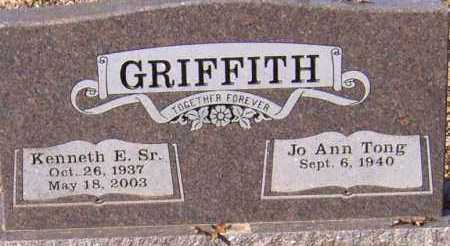 GRIFFITH, JO ANN WOOLSEY - Johnson County, Arkansas | JO ANN WOOLSEY GRIFFITH - Arkansas Gravestone Photos