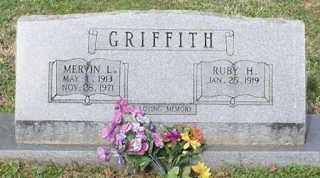 GRIFFITH, MERVIN L - Johnson County, Arkansas | MERVIN L GRIFFITH - Arkansas Gravestone Photos