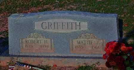 GRIFFITH, MATTIE J - Johnson County, Arkansas | MATTIE J GRIFFITH - Arkansas Gravestone Photos