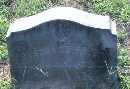 GRIFFITH, ROBERT N - Johnson County, Arkansas | ROBERT N GRIFFITH - Arkansas Gravestone Photos