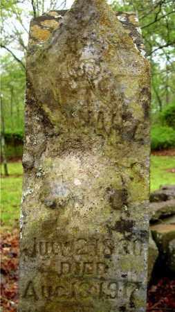 PATRICK KING, HANNAH CAROLINE (CLOSE UP) - Johnson County, Arkansas | HANNAH CAROLINE (CLOSE UP) PATRICK KING - Arkansas Gravestone Photos