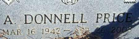 PRICE, A DONNELL - Johnson County, Arkansas   A DONNELL PRICE - Arkansas Gravestone Photos