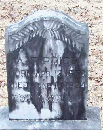 PRICE, ANDY F - Johnson County, Arkansas | ANDY F PRICE - Arkansas Gravestone Photos