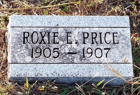 PRICE, ROXIE E - Johnson County, Arkansas | ROXIE E PRICE - Arkansas Gravestone Photos