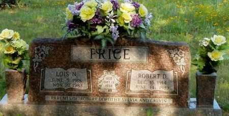 PRICE, LOIS N - Johnson County, Arkansas | LOIS N PRICE - Arkansas Gravestone Photos