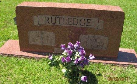 RUTLEDGE, TAMER C - Johnson County, Arkansas | TAMER C RUTLEDGE - Arkansas Gravestone Photos