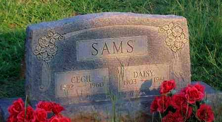 SAMS, CECIL - Johnson County, Arkansas | CECIL SAMS - Arkansas Gravestone Photos