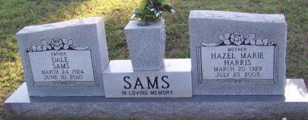 SAMS, DALE - Johnson County, Arkansas | DALE SAMS - Arkansas Gravestone Photos
