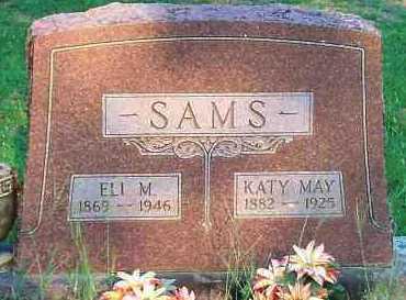SAMS, KATY MAY - Johnson County, Arkansas | KATY MAY SAMS - Arkansas Gravestone Photos