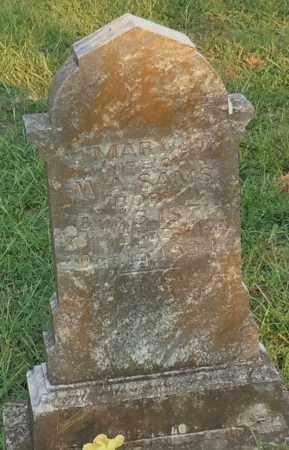 SAMS, MARY J - Johnson County, Arkansas | MARY J SAMS - Arkansas Gravestone Photos