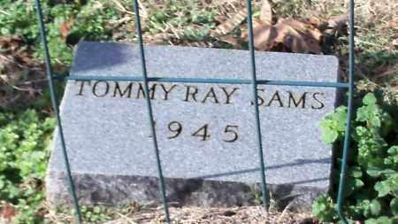 SAMS, TOMMY RAY - Johnson County, Arkansas   TOMMY RAY SAMS - Arkansas Gravestone Photos