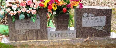 SANDERSON, GLADYS - Johnson County, Arkansas | GLADYS SANDERSON - Arkansas Gravestone Photos