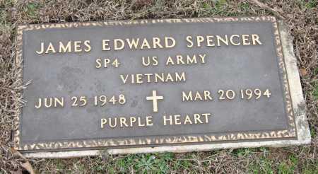 SPENCER  (VETERAN VIET), JAMES EDWARD - Johnson County, Arkansas   JAMES EDWARD SPENCER  (VETERAN VIET) - Arkansas Gravestone Photos
