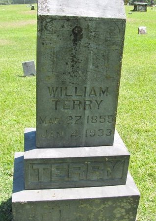 TERRY, WILLIAM - Johnson County, Arkansas   WILLIAM TERRY - Arkansas Gravestone Photos