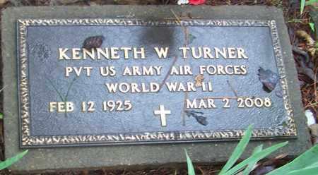 TURNER (VETERAN WWII), KENNETH WILLIAM - Johnson County, Arkansas   KENNETH WILLIAM TURNER (VETERAN WWII) - Arkansas Gravestone Photos