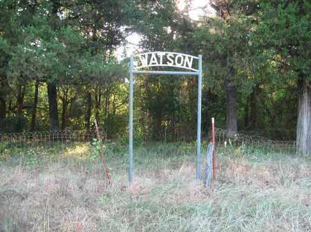 *WATSON CEMETERY GATE,  - Johnson County, Arkansas    *WATSON CEMETERY GATE - Arkansas Gravestone Photos