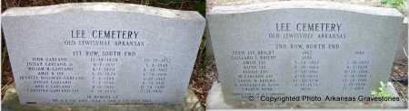 *MEMORIAL STONE,  - Lafayette County, Arkansas    *MEMORIAL STONE - Arkansas Gravestone Photos
