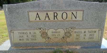 AARON, HAZEL M - Lafayette County, Arkansas | HAZEL M AARON - Arkansas Gravestone Photos