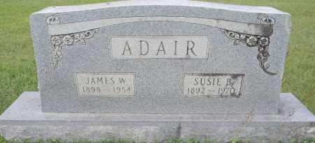 ADAIR, JAMES W - Lafayette County, Arkansas | JAMES W ADAIR - Arkansas Gravestone Photos