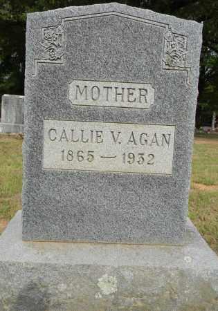 AGAN, CALLIE V - Lafayette County, Arkansas   CALLIE V AGAN - Arkansas Gravestone Photos