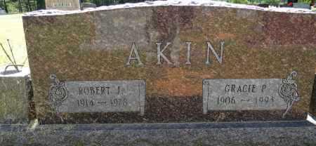 AKIN, ROBERT J - Lafayette County, Arkansas | ROBERT J AKIN - Arkansas Gravestone Photos