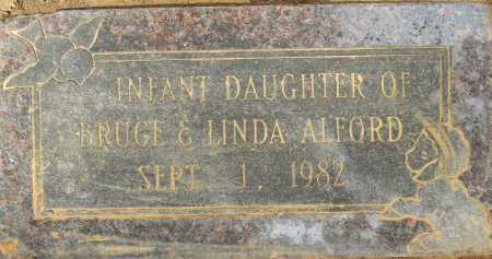 ALFORD, INFANT DAUGHTER - Lafayette County, Arkansas   INFANT DAUGHTER ALFORD - Arkansas Gravestone Photos