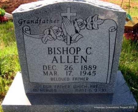 ALLEN, BISHOP C - Lafayette County, Arkansas | BISHOP C ALLEN - Arkansas Gravestone Photos