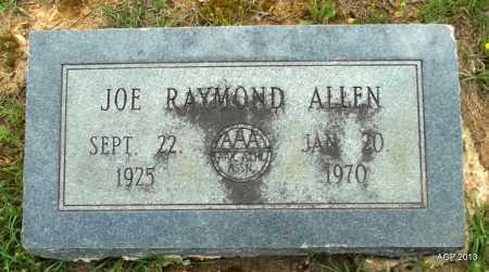 ALLEN, JOE RAYMOND - Lafayette County, Arkansas   JOE RAYMOND ALLEN - Arkansas Gravestone Photos