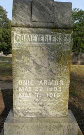 ARMOR, ONIE - Lafayette County, Arkansas | ONIE ARMOR - Arkansas Gravestone Photos