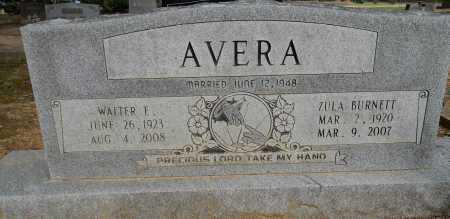 AVERA, ZULA - Lafayette County, Arkansas | ZULA AVERA - Arkansas Gravestone Photos