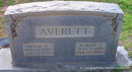 AVERETT, LESSIE B - Lafayette County, Arkansas   LESSIE B AVERETT - Arkansas Gravestone Photos