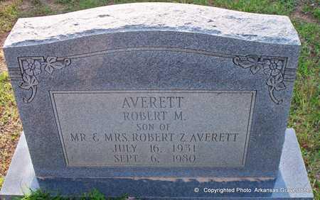 AVERETT, ROBERT M - Lafayette County, Arkansas | ROBERT M AVERETT - Arkansas Gravestone Photos