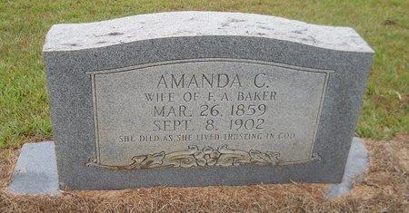 BAKER, AMANDA C - Lafayette County, Arkansas | AMANDA C BAKER - Arkansas Gravestone Photos