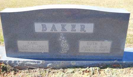 BAKER, RUTH - Lafayette County, Arkansas | RUTH BAKER - Arkansas Gravestone Photos