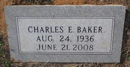 BAKER, CHARLES E - Lafayette County, Arkansas | CHARLES E BAKER - Arkansas Gravestone Photos