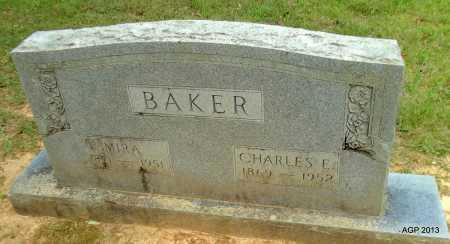BAKER, MIRA - Lafayette County, Arkansas   MIRA BAKER - Arkansas Gravestone Photos