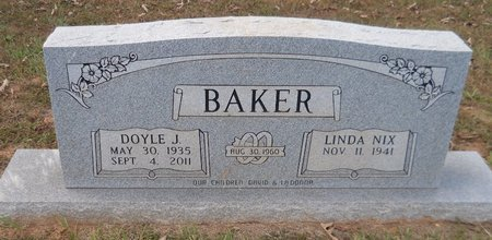 BAKER, DOYLE J - Lafayette County, Arkansas   DOYLE J BAKER - Arkansas Gravestone Photos