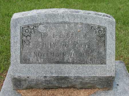 BAKER, F E - Lafayette County, Arkansas | F E BAKER - Arkansas Gravestone Photos
