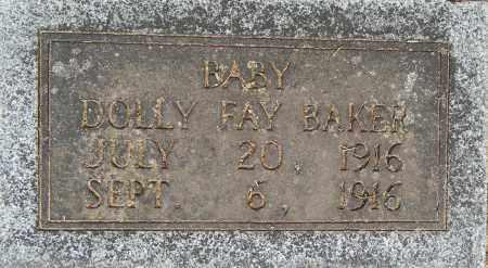 BAKER, DOLLY FAY - Lafayette County, Arkansas   DOLLY FAY BAKER - Arkansas Gravestone Photos