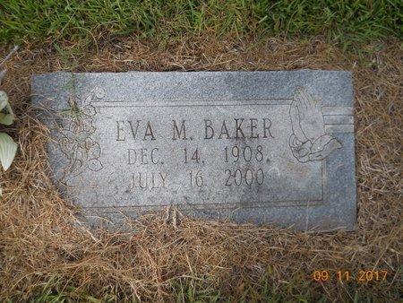 BAKER, EVA M - Lafayette County, Arkansas | EVA M BAKER - Arkansas Gravestone Photos