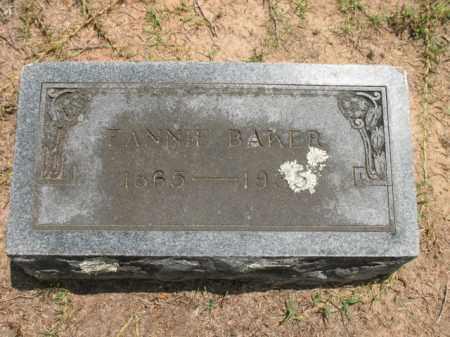 BAKER, FANNIE - Lafayette County, Arkansas   FANNIE BAKER - Arkansas Gravestone Photos