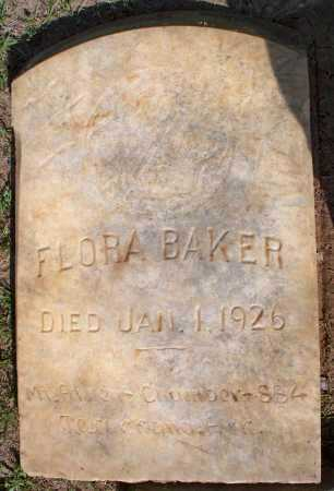 BAKER, FLORA - Lafayette County, Arkansas   FLORA BAKER - Arkansas Gravestone Photos