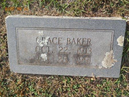 BAKER, GRACE - Lafayette County, Arkansas   GRACE BAKER - Arkansas Gravestone Photos