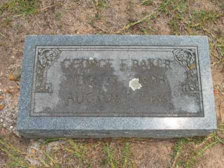 BAKER, GEORGE F - Lafayette County, Arkansas | GEORGE F BAKER - Arkansas Gravestone Photos