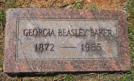 BAKER, GEORGIA - Lafayette County, Arkansas | GEORGIA BAKER - Arkansas Gravestone Photos