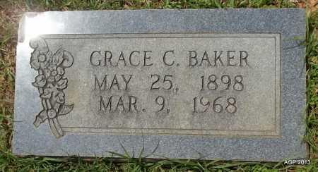 BAKER, GRACE C - Lafayette County, Arkansas   GRACE C BAKER - Arkansas Gravestone Photos