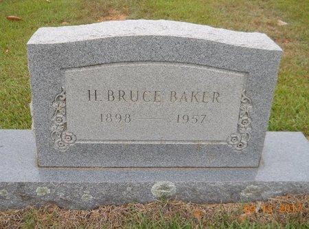 BAKER, H. BRUCE - Lafayette County, Arkansas | H. BRUCE BAKER - Arkansas Gravestone Photos
